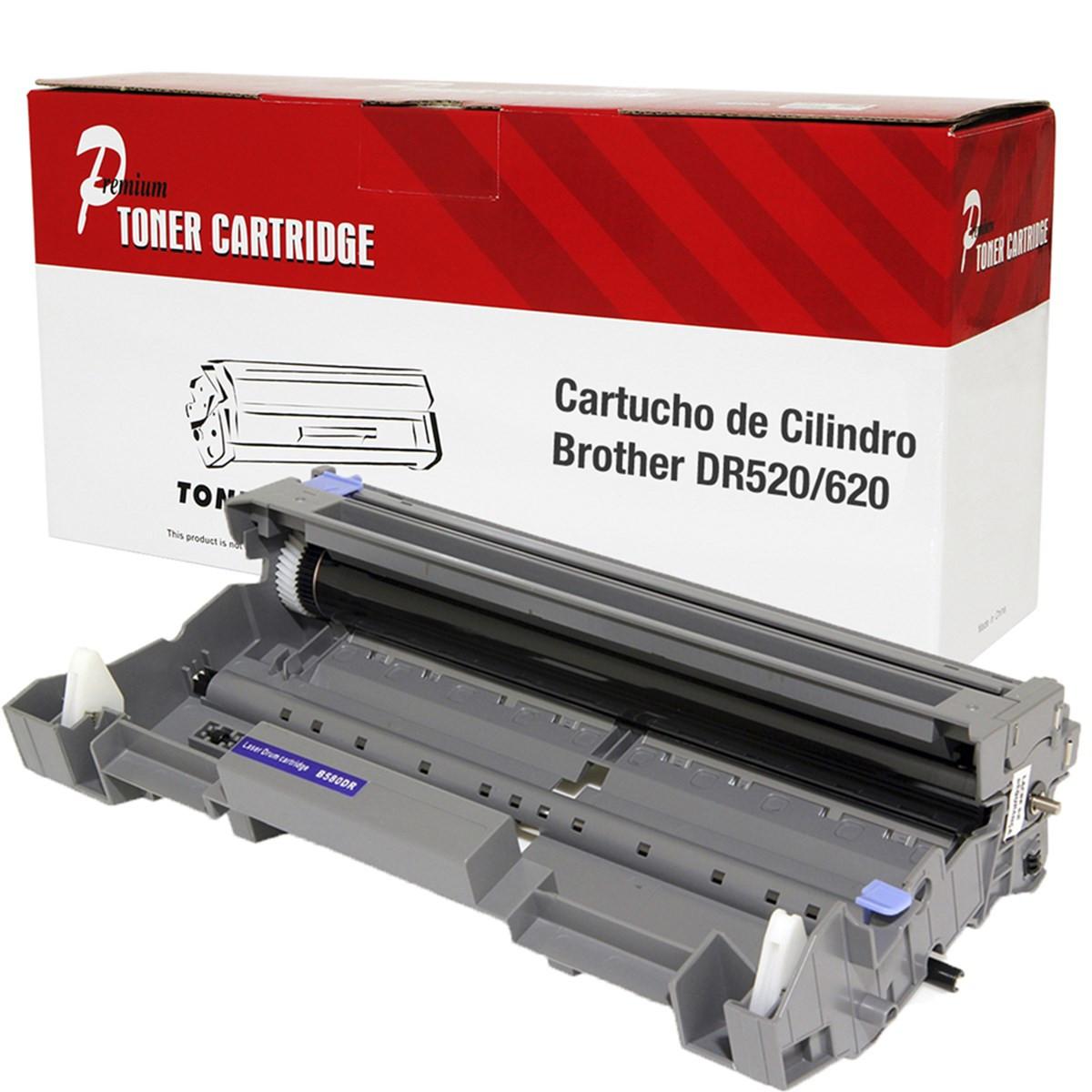 Cartucho de Cilindro Brother DR620 DR 620 para TN650 TN 650 | 8080 | 8085 Compatível Premium