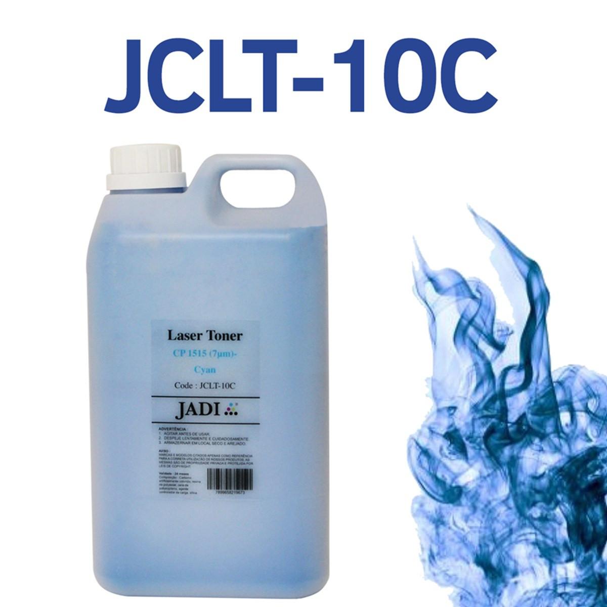 Toner Refil HP CF511A 511A Ciano   CP1215 CP1510 CP1515 CP1518 CM1312   Jadi 1kg