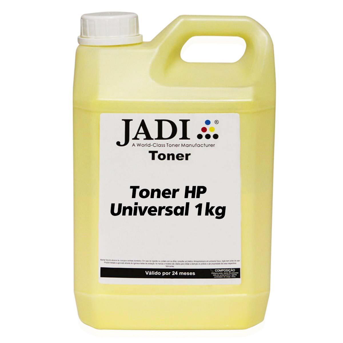 Toner Refil HP CB542A 542A Amarelo | CP1215 CP1510 CP1515 CP1518 CM1312 | Jadi 1kg