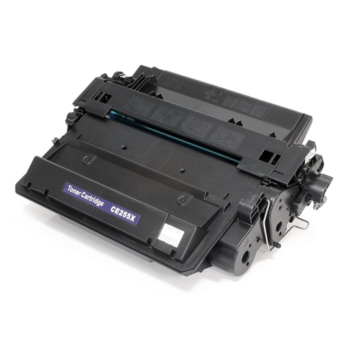 Toner Compatível com HP CE255X CE255XB | P3015 P3015DN M521DN M525 M525DN | Katun Select 12.5k