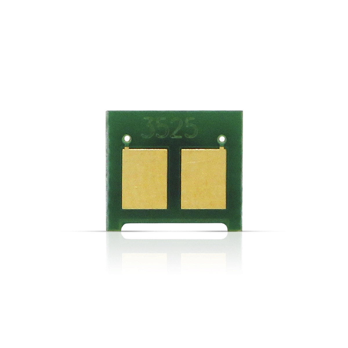 Chip HP CE251A Ciano | CM3530 CM3530FS CP3525 CP3525DN CM3525N CM3525X | 2.500 páginas