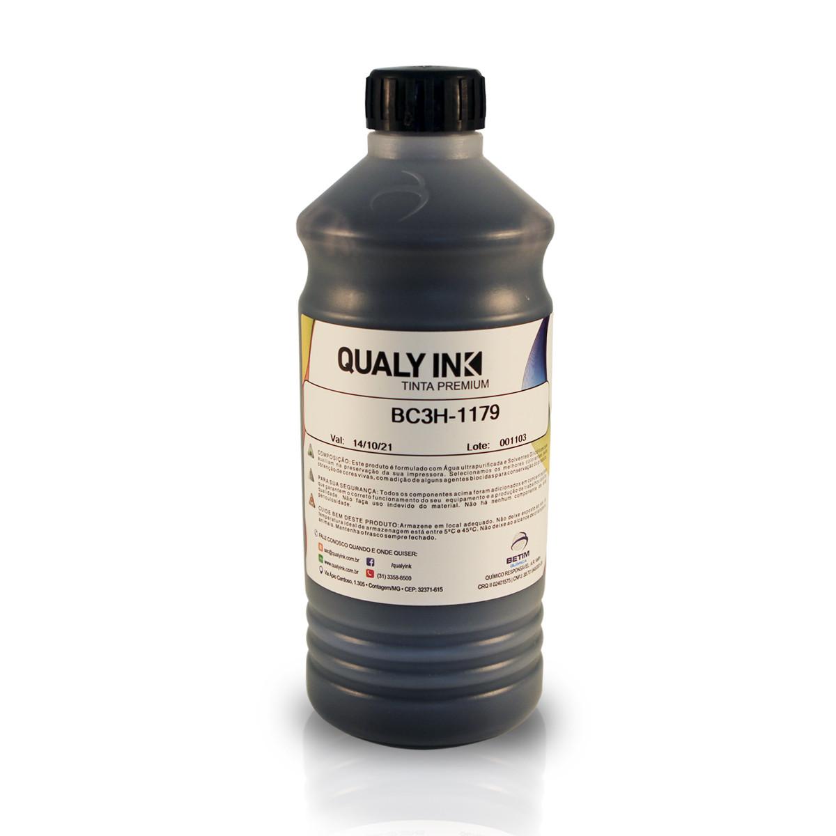 Tinta HP Corante Preta BC3H-1179   940 940XL C4902AB C4906AB 8000 8500   Qualy Ink 1kg