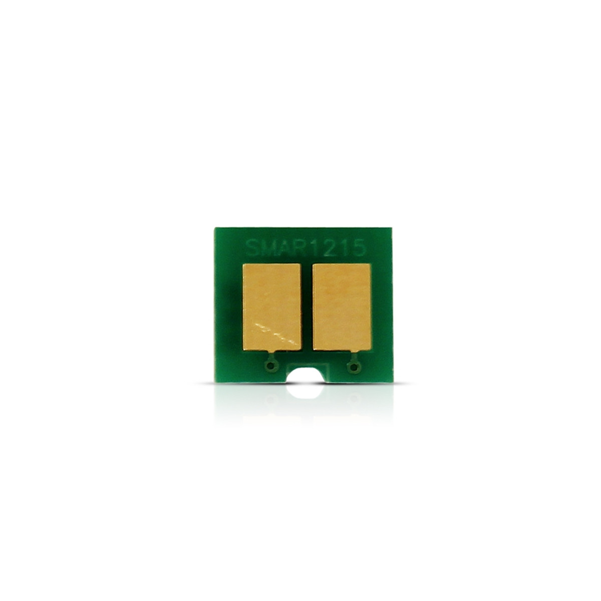 Kit 2 Chip HP CB541A 125A Ciano | CP1215 CP1510 CP1515 CM1312 CP1518 | 1.400 impressões