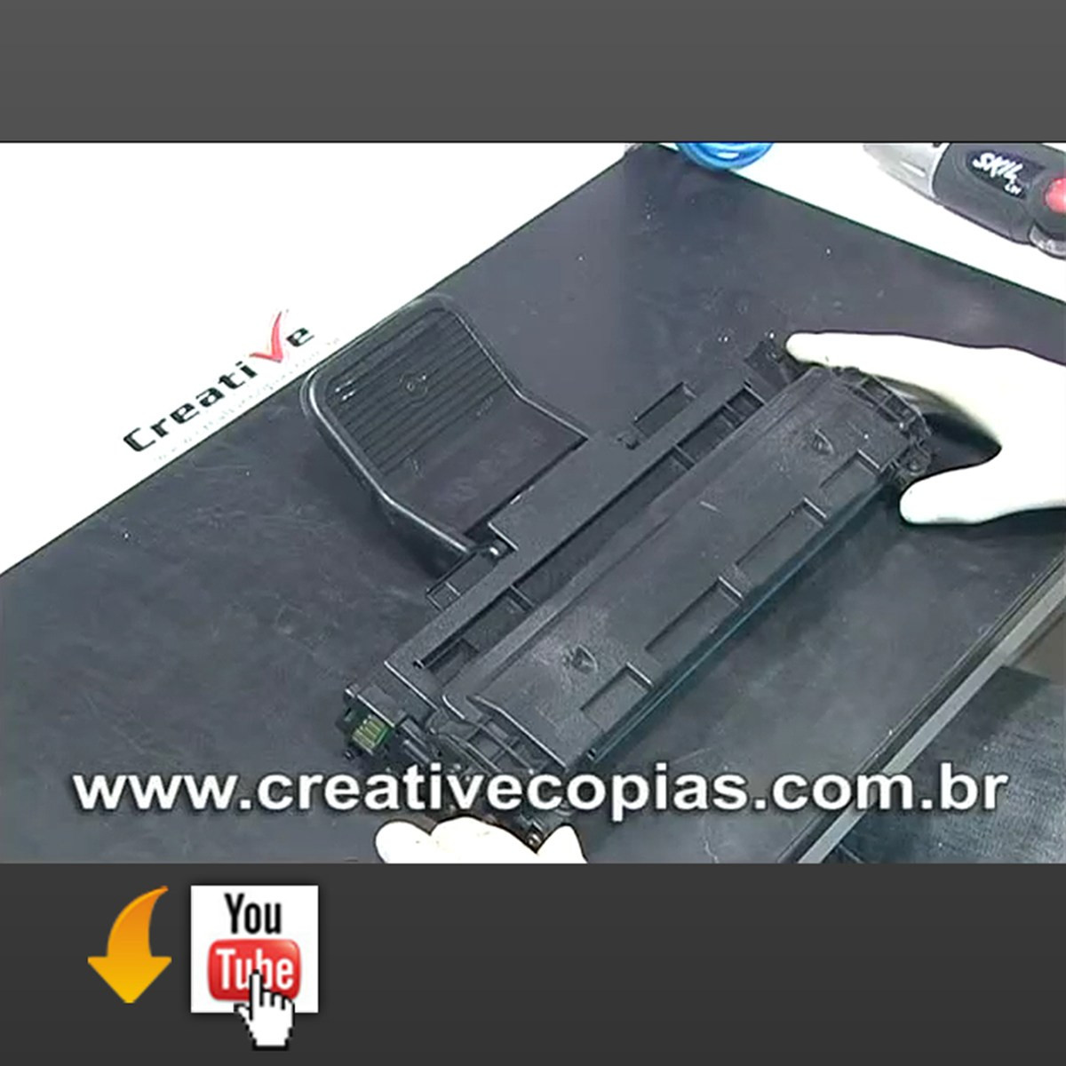 Video Aula Recarga Toner Samsung ML2010, ML2010D3
