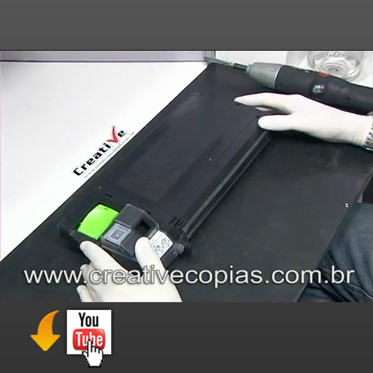 Video Aula Recarga Toner Sharp AL1000, 1530, 1641, 1642, 2040, Xerox XD100, Olivetti 9912