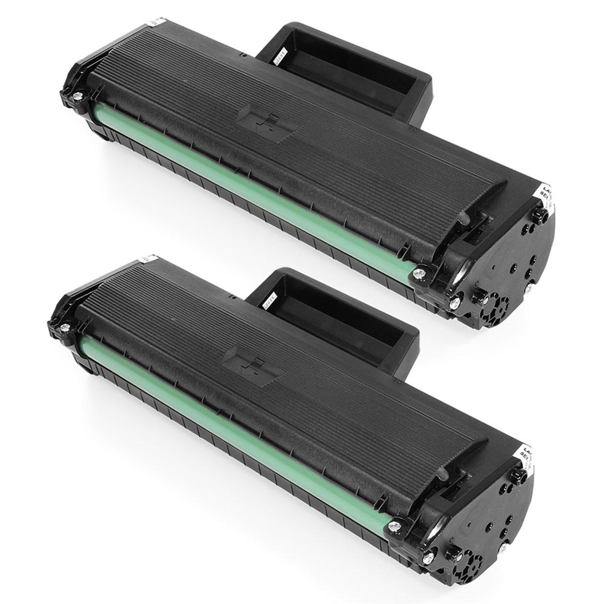 Kit 2 Toner Compatível com Samsung MLT-D104S   ML1665 ML1660 ML1860 SCX3200 SCX3217 SCX3205   1.5k