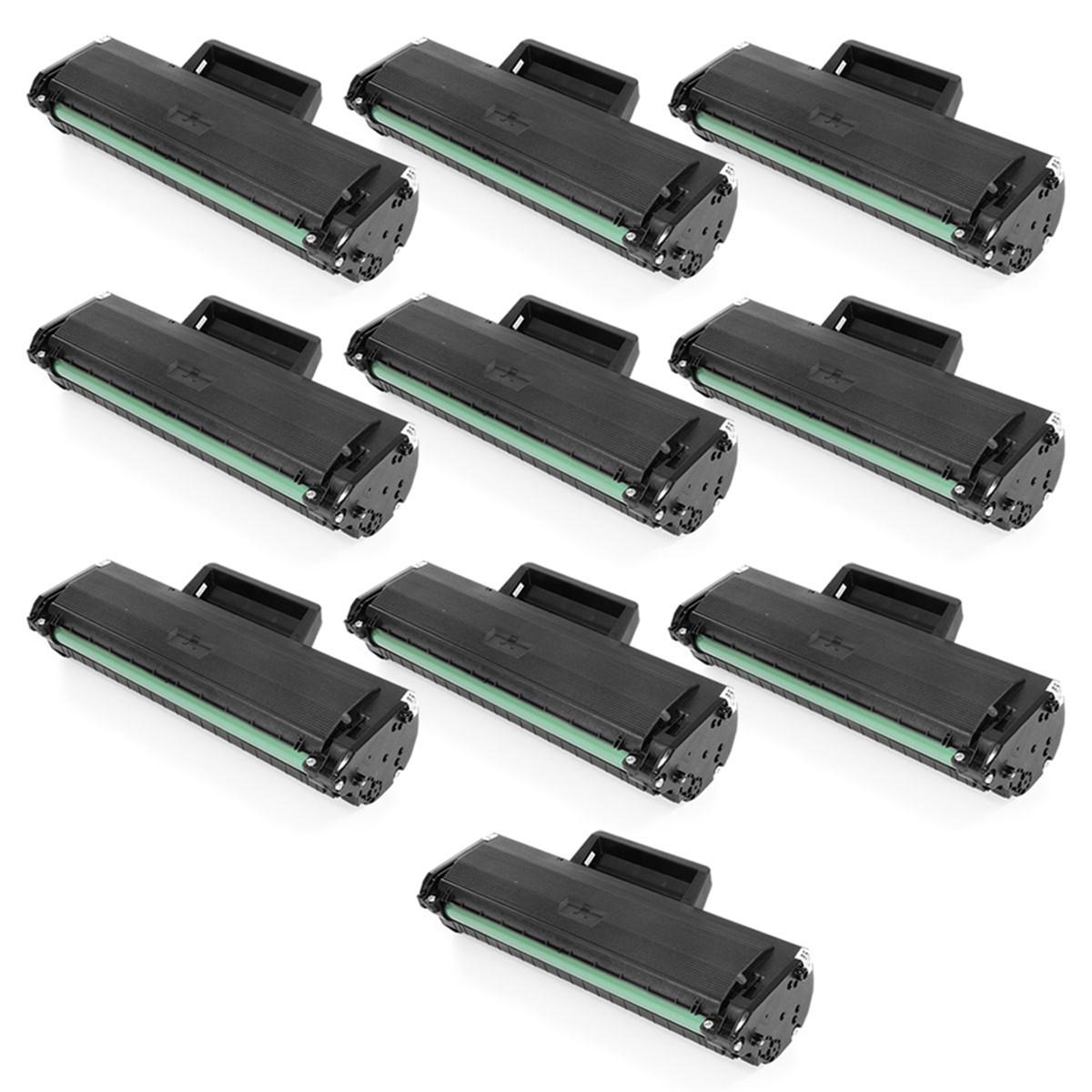 Kit 10 Toner Compatível com Samsung MLT-D104S ML1665 ML1660 ML1860 SCX3200 SCX3217 SCX3205   1.5k