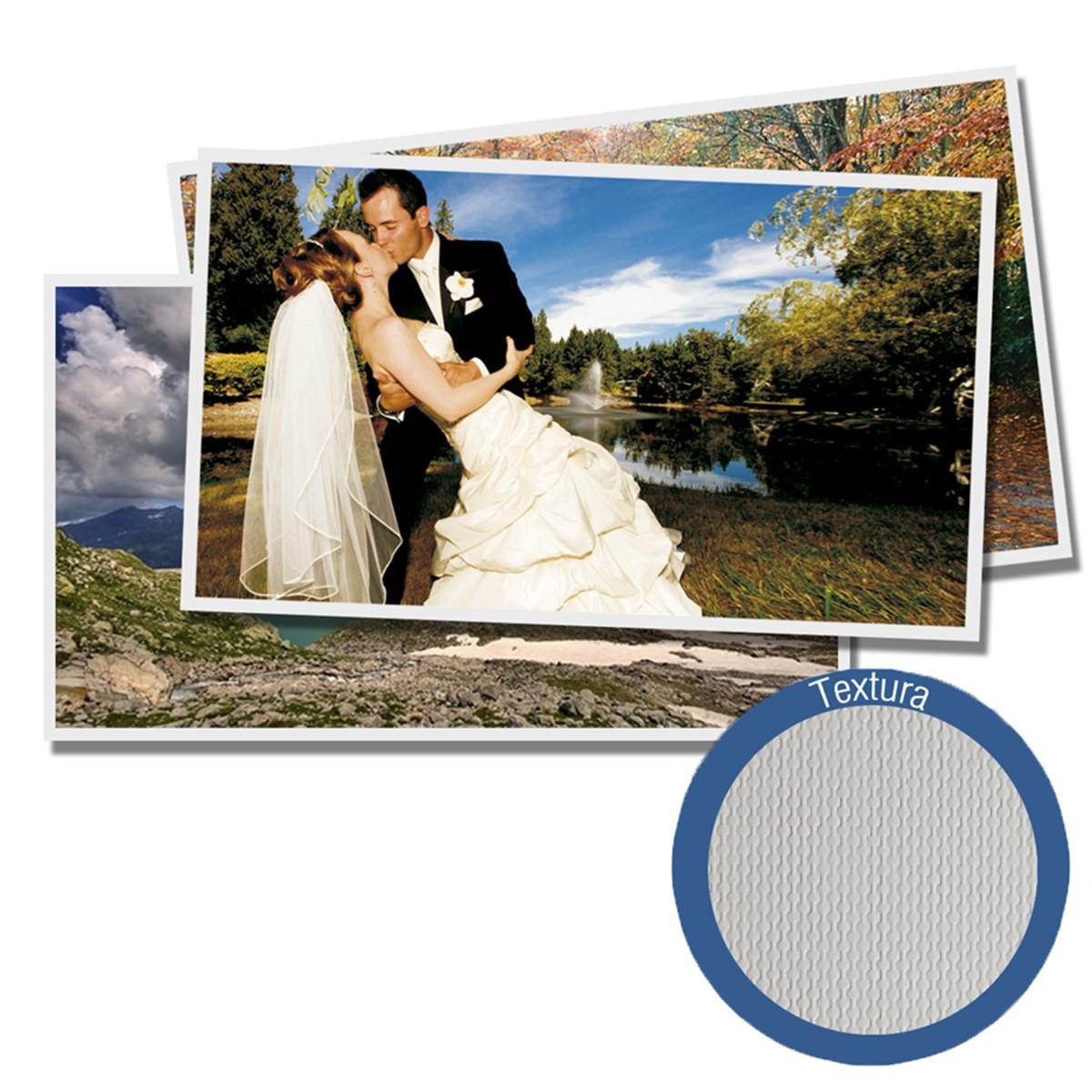 Papel Fotográfico Glossy Brilhante Textura Pérola | 200g tamanho A4 | Pacote com 20 folhas