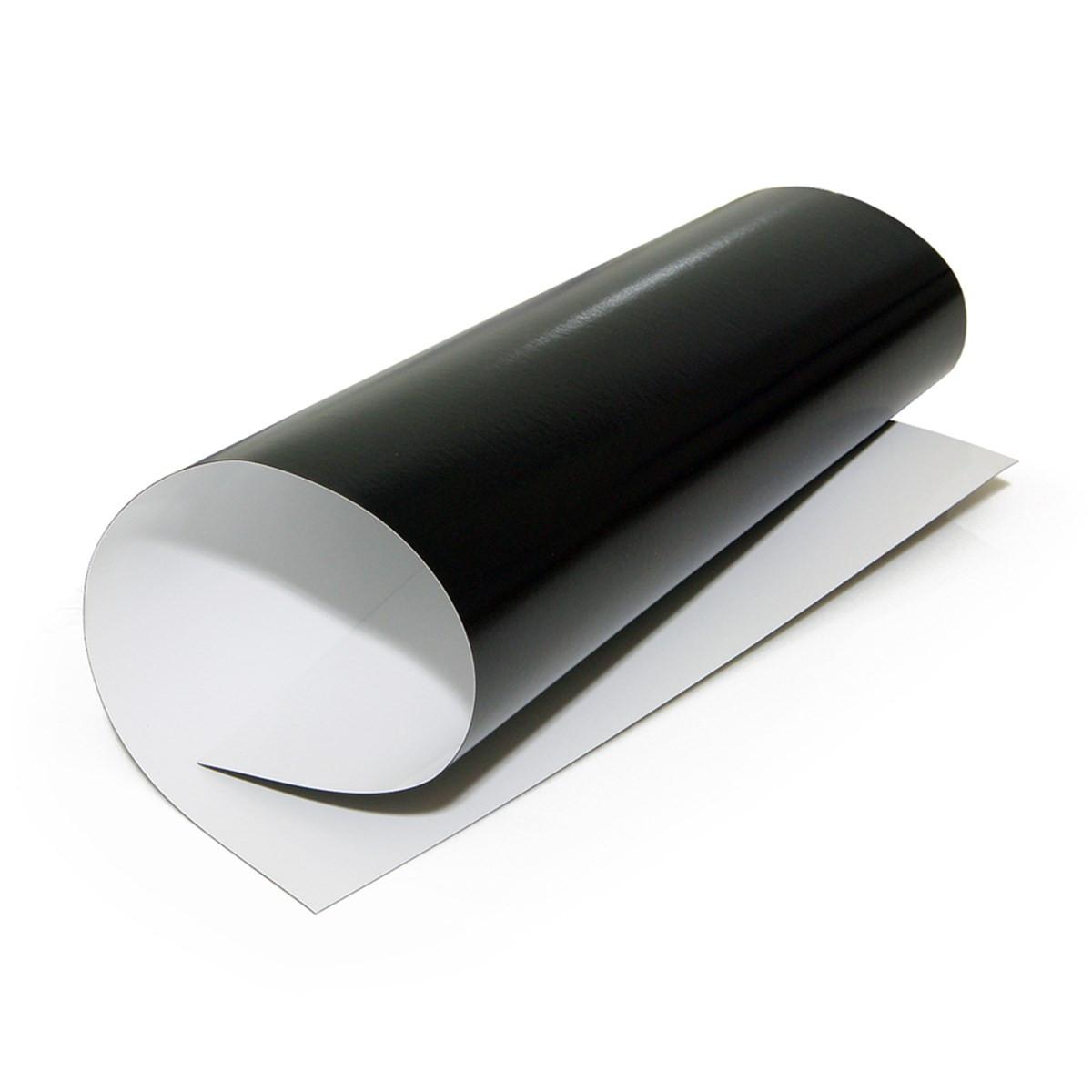 Papel Magnético Fotográfico Glossy Brilhante   690g tamanho A4   Pacote com 05 folhas