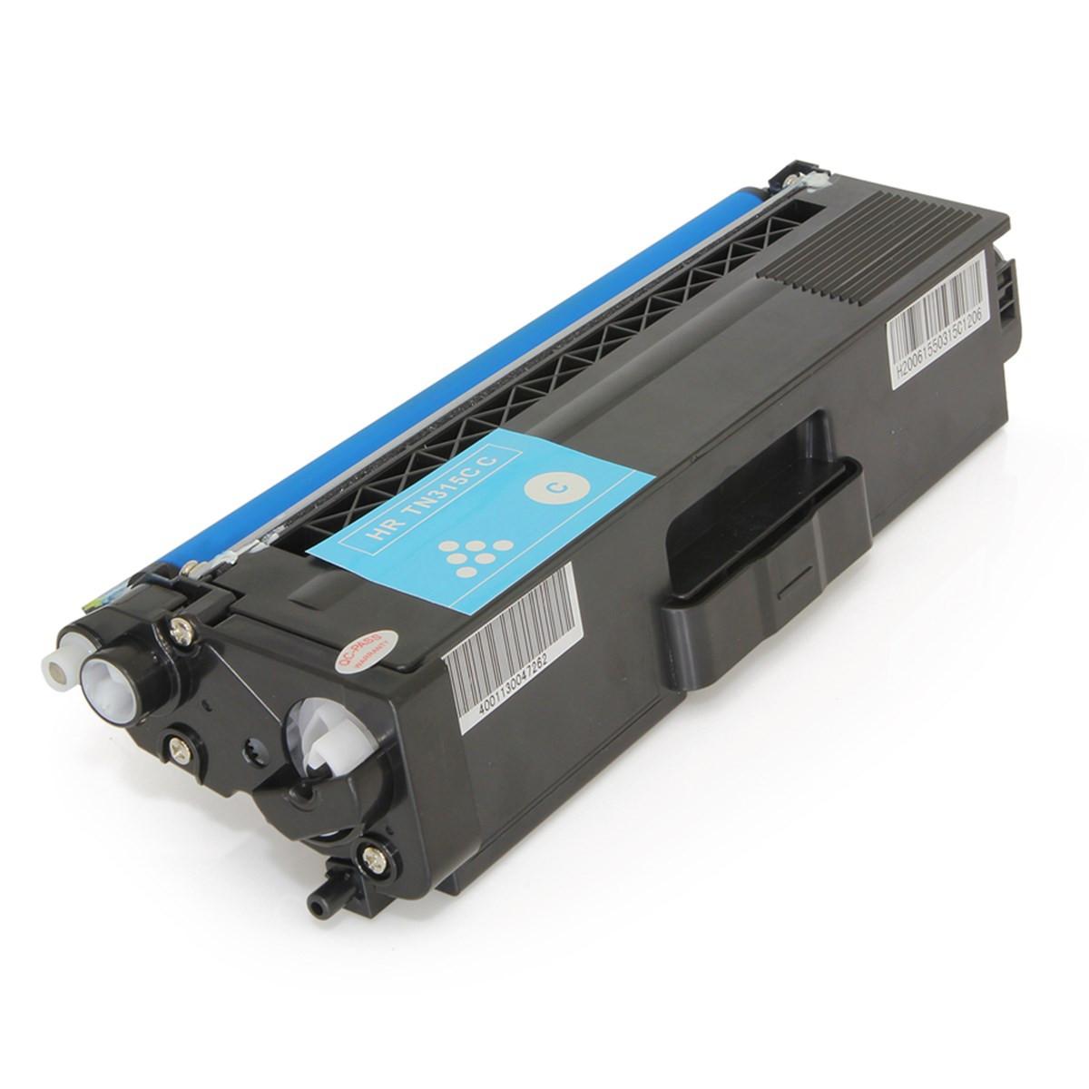 Toner Compatível com Brother TN310 TN310C Ciano | HL4150CDN MFC9560CDW HL4570CDW | Premium 1.5k