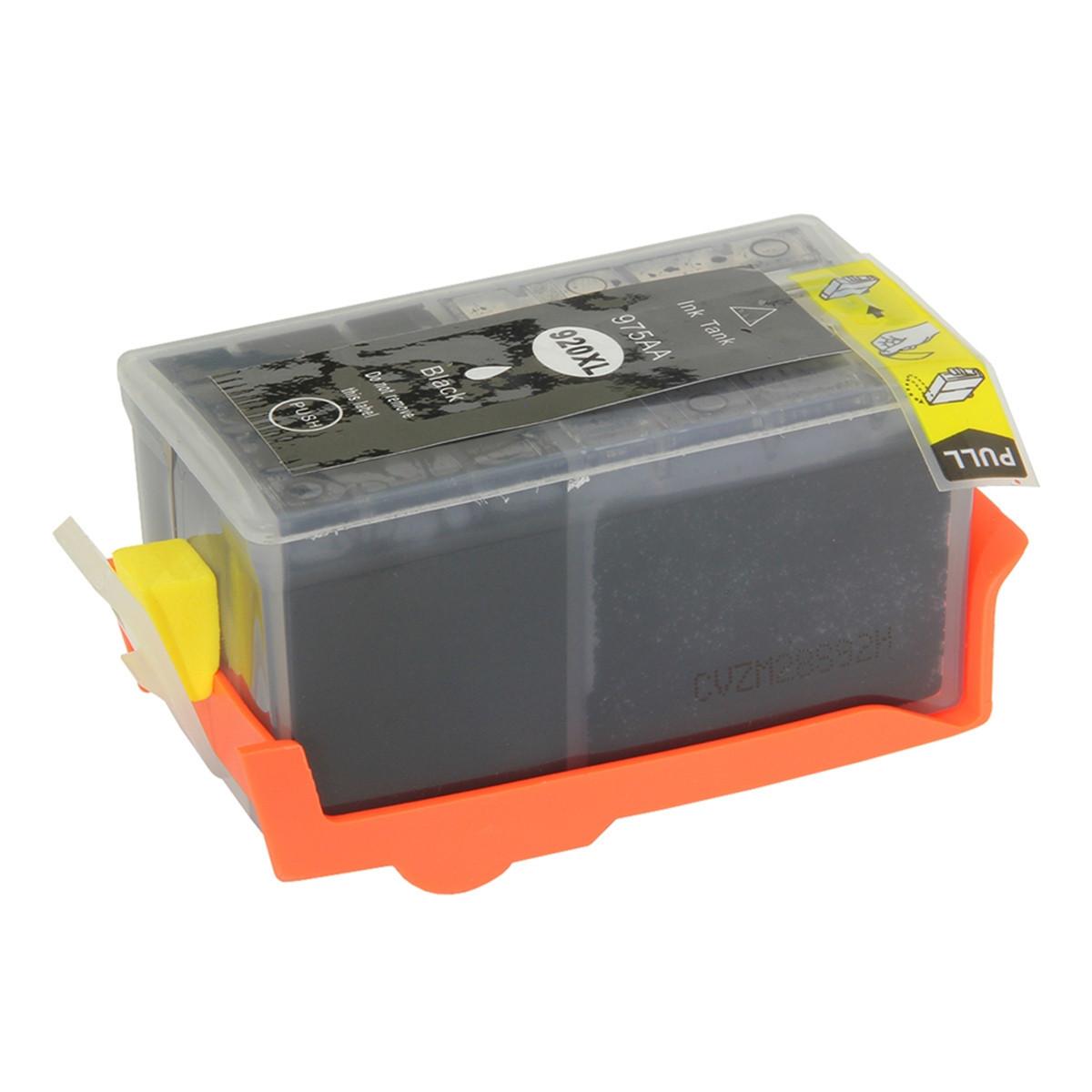 Cartucho de Tinta Compatível com HP 920XL 920 CD975AL Preto | Officejet 6000 6500 7500A 58,5 ml