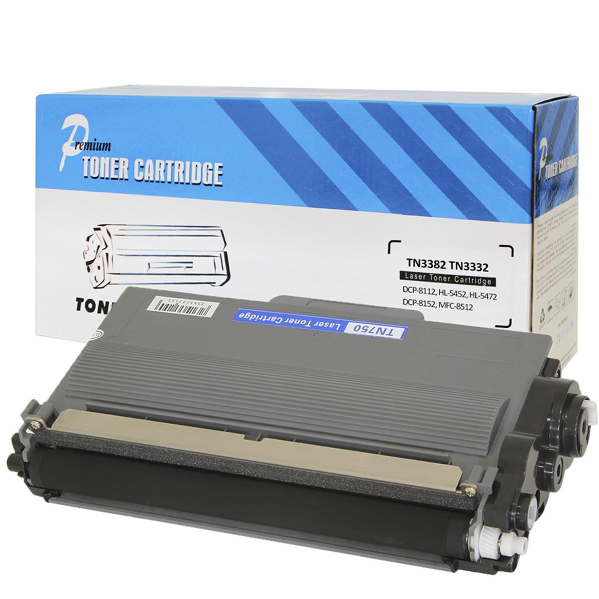 Toner Compatível com Brother TN720 | DCP-8110DN DCP-8150DN HL-5450DW HL-5470DW MFC-8510DN Premium 8k
