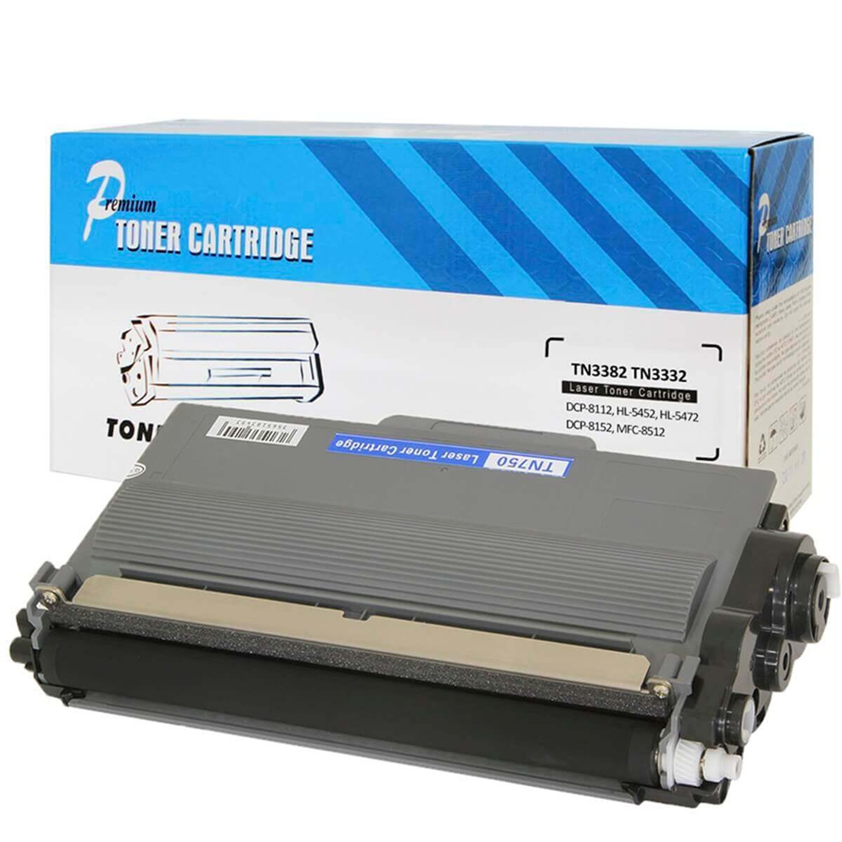 Toner Compatível com Brother TN3382   DCP-8112DN HL-5452DN DCP-8152DN MFC-8512DN   Premium 8k