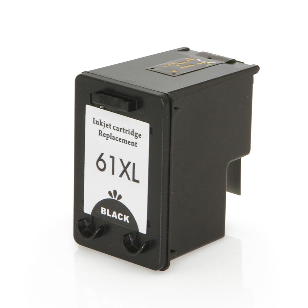 Cartucho de Tinta Compatível com HP 61XL 61 Preto | Deskjet 1000 Deskjet 3000 Deskjet 2000 12ml