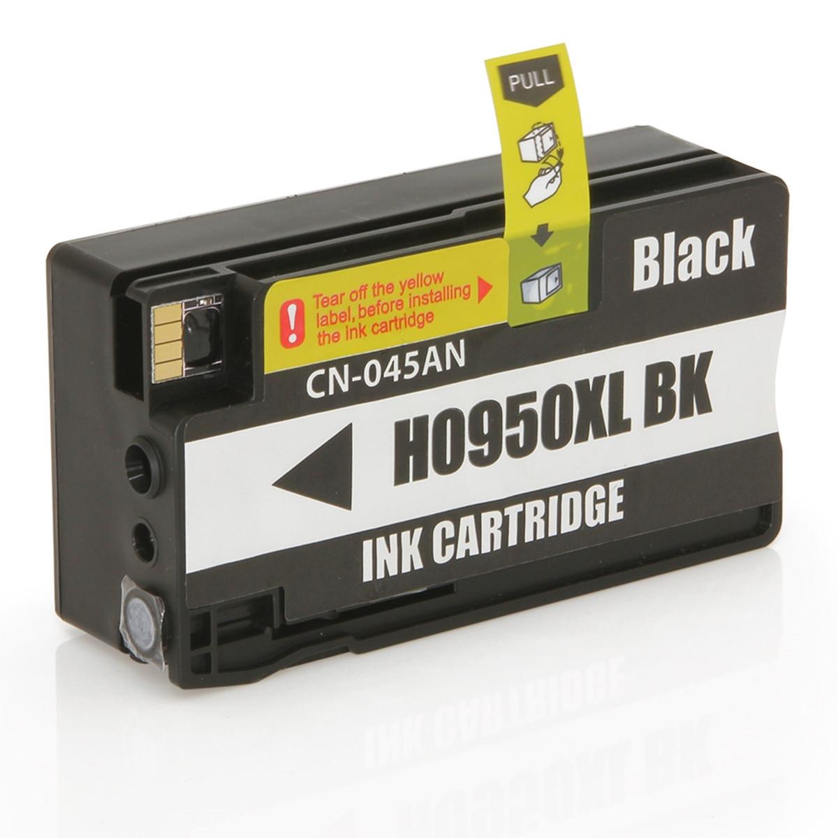 Cartucho de Tinta Compatível com HP 950XL 950 CN045A Preto | Officejet 8100 Officejet 8600W 75ml