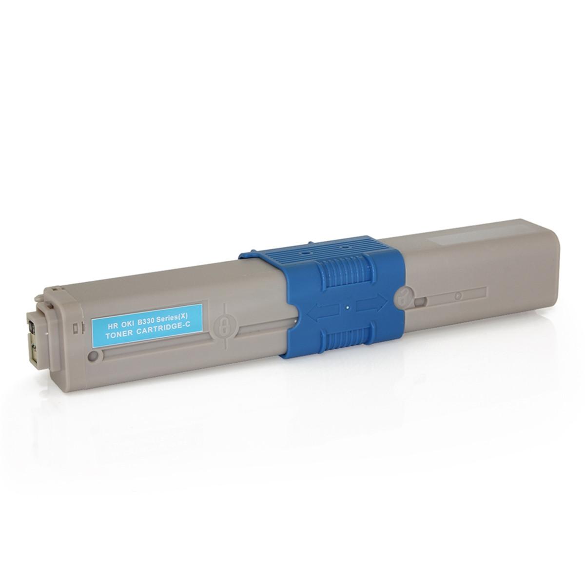 Toner Compatível Okidata 469706 469703 Ciano | C310 MC351 C310N MC361DN C330 MC561 | Importado 2k