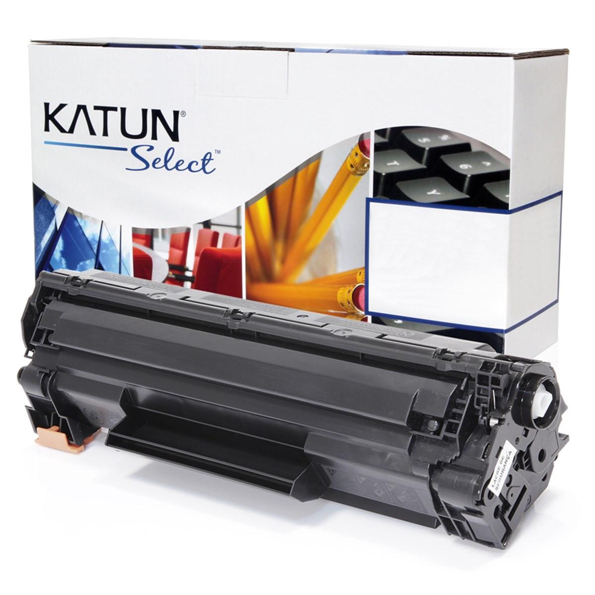 Toner Compatível com HP CB435A CB436A CE285A Universal   P1102 P1005 P1505 P1006   Katun Select 2k