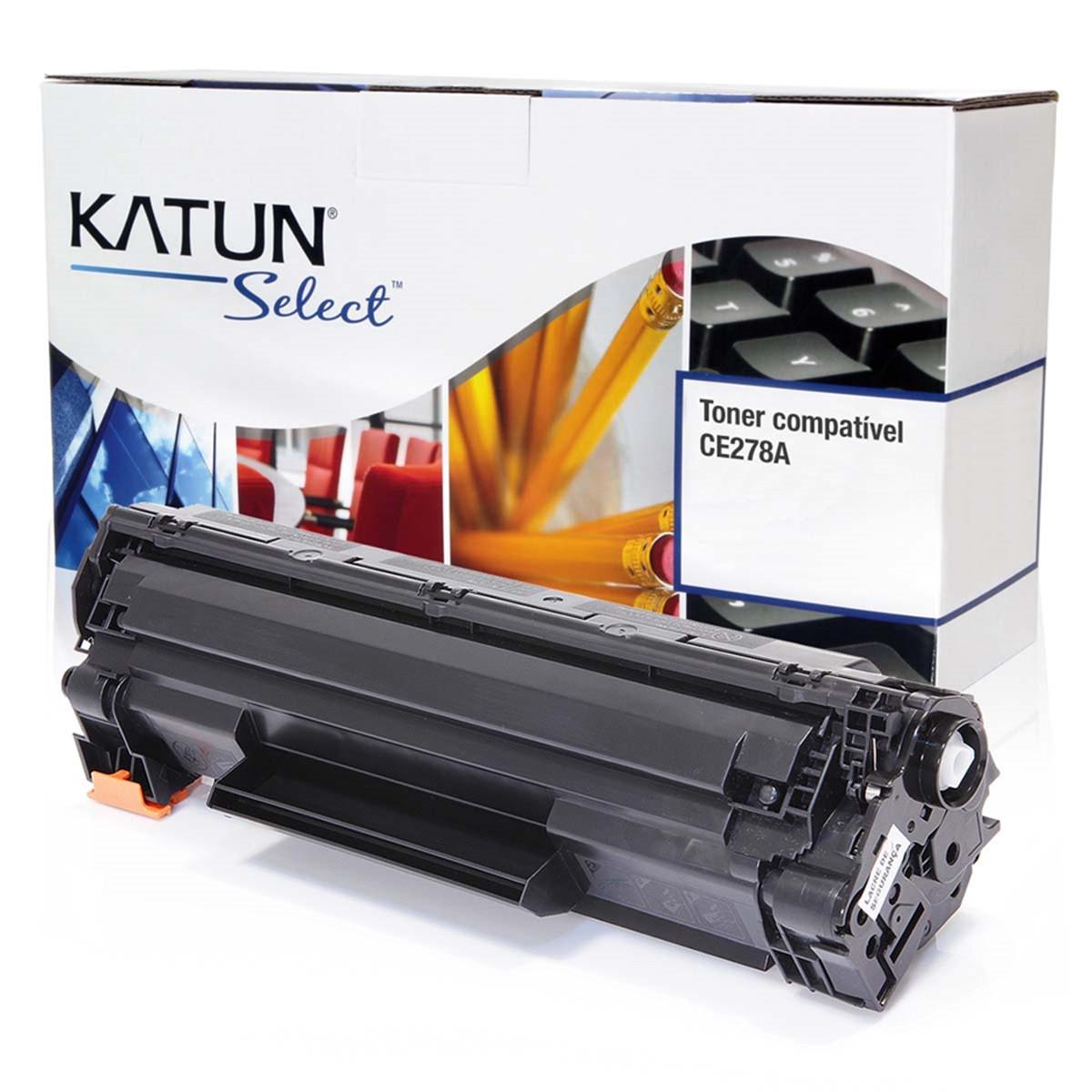 Toner Compatível com HP CE278A CE278AB | P1566 P1606 P1606DN M1536 M1536DNF | Katun Select 2.1k