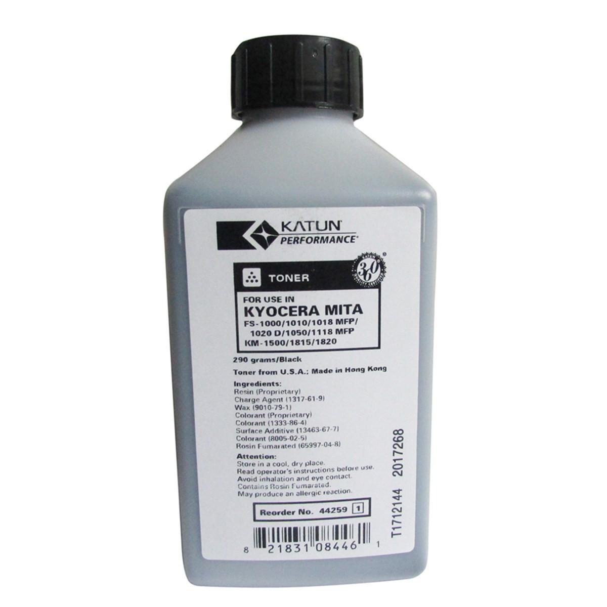 Toner Refil Kyocera Mita TK20 TK100 | FS1000 FS1010 FS1020D KM1820 FS1050 | Katun Performance 290g