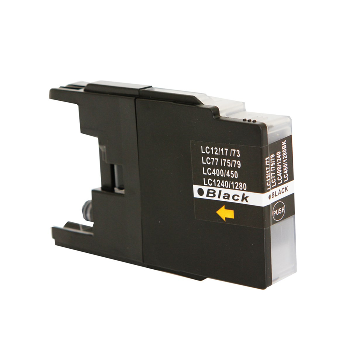 Cartucho de Tinta Compatível com Brother LC-75BK LC-79BK Preto | MFC-J6910DW J430W MFC-J6710DW 28ml