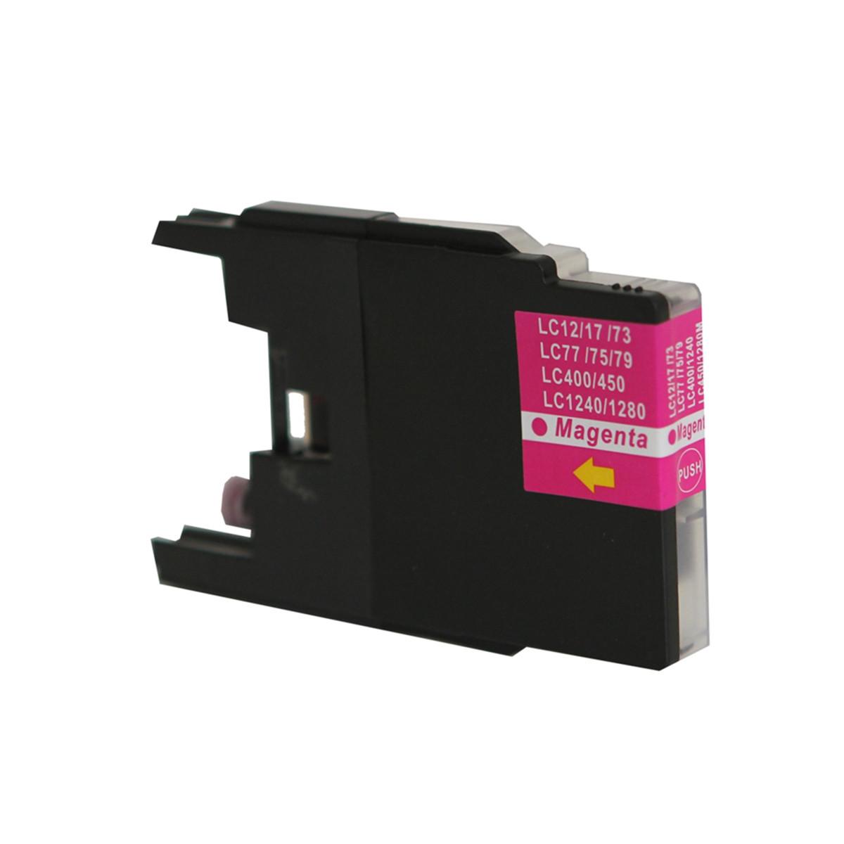 Cartucho de Tinta Compatível com Brother LC-75 LC-79 Magenta | MFC-J6910DW J430W MFC-J6710DW 13ml