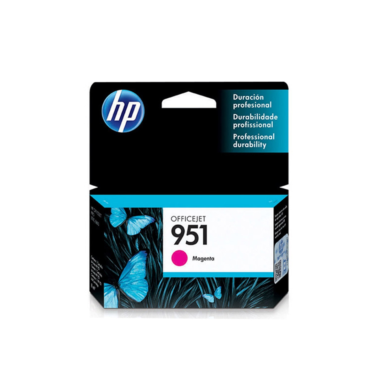 Cartucho de Tinta HP 951 CN051AL CN051AB Magenta | 8610 8620 8100 8600 Plus 8630 | Original 8ml