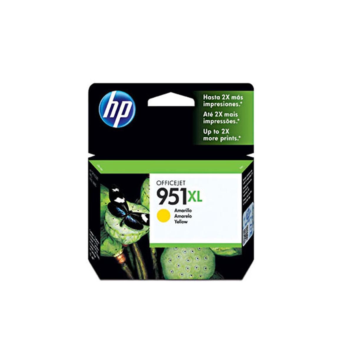 Cartucho de Tinta HP 951XL 951 Amarelo CN048AL   8610 8620 8100 8600 Plus 8630   Original 17ml