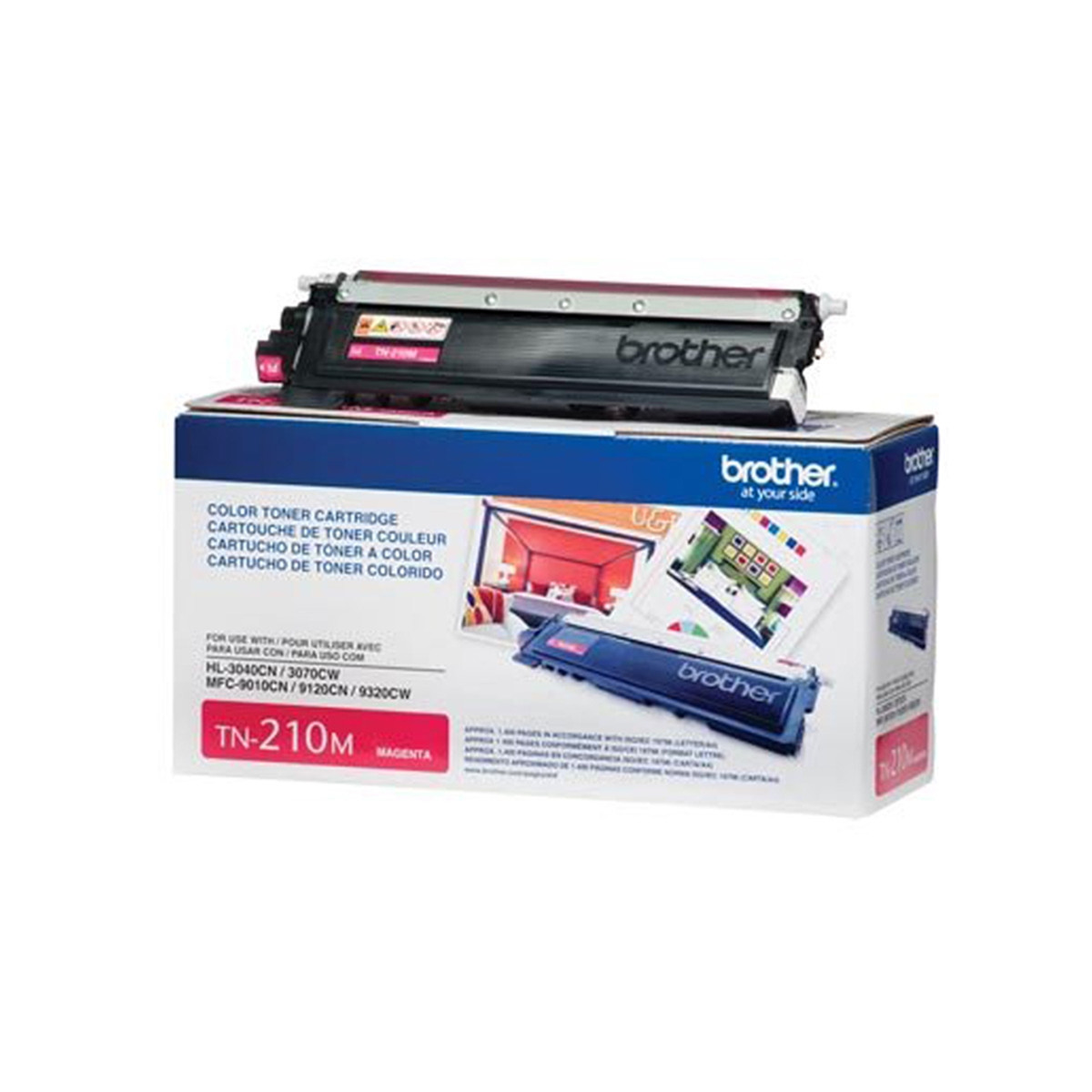 Toner Brother TN-210M TN210 Magenta | HL3040 HL3070 MFC9010 MFC9120 MFC9320 | Original 1.4k