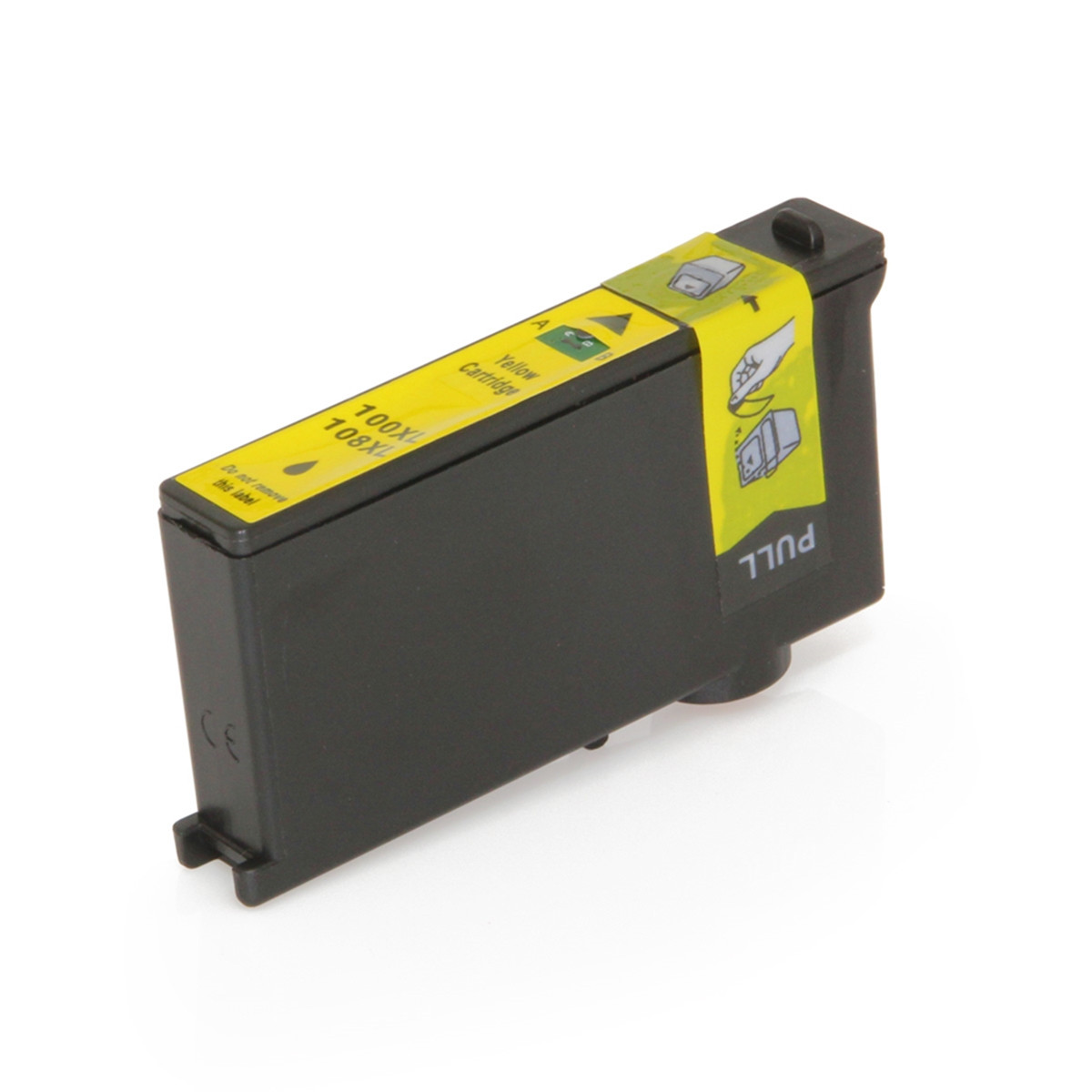 Cartucho de Tinta Compatível com Lexmark 100XL Amarelo 14N1071 Pro-905 Pro-805 Pro-705 205 | 11,5ml