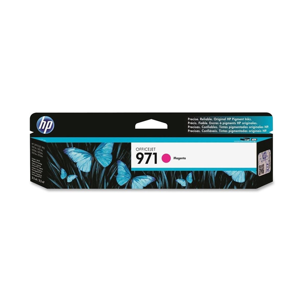 Cartucho de Tinta HP 971 CN623AM Magenta | X-451DW X-476DW | Original 31,5ml
