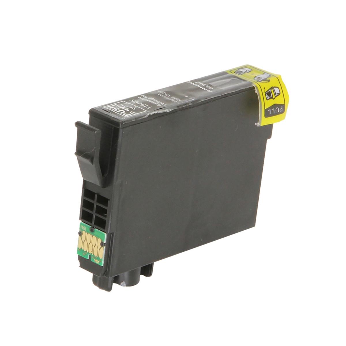 Cartucho de Tinta Compatível com Epson T194 T194120 T1941 Preto | XP204 XP 204 | 10ml