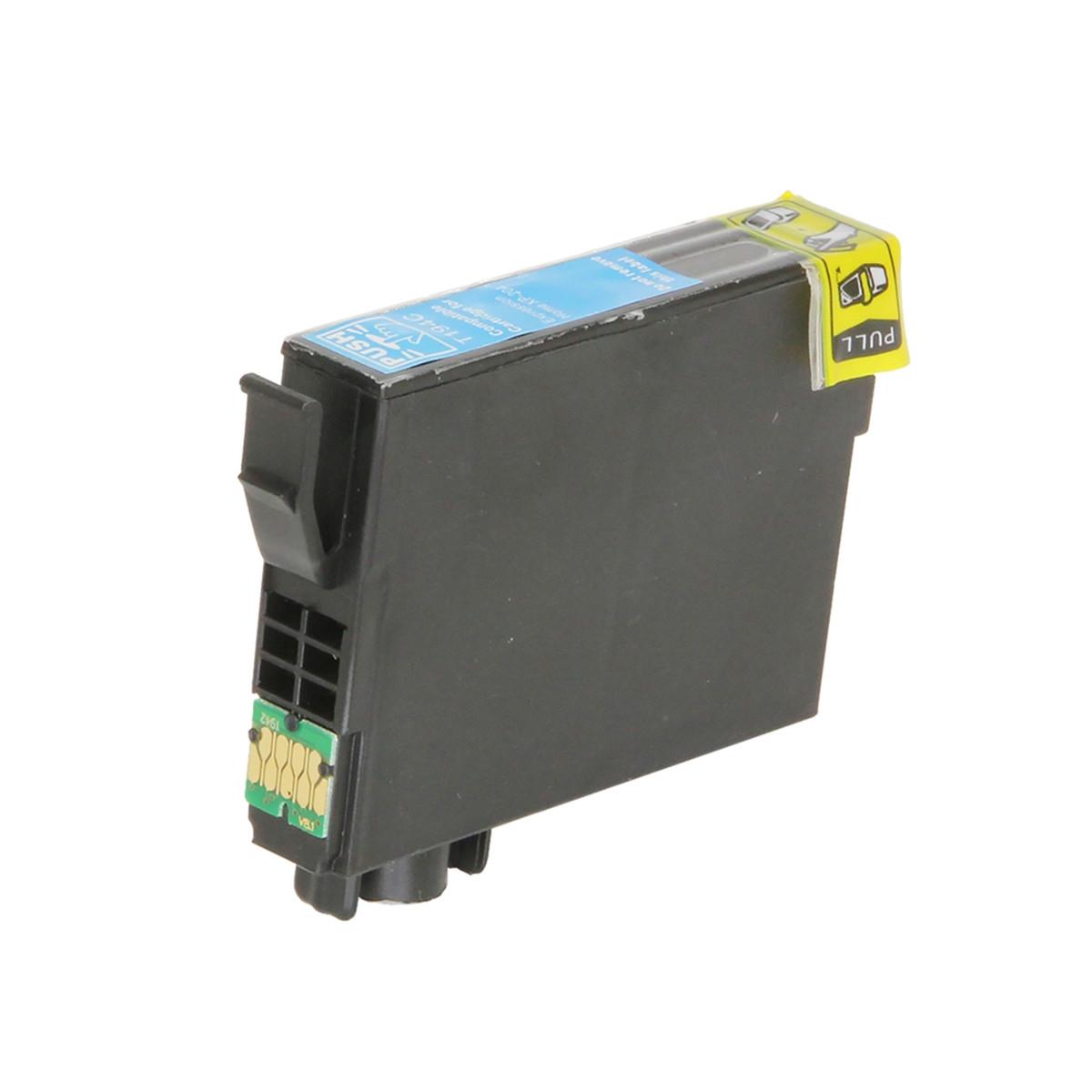 Cartucho de Tinta Compatível com Epson T194 T194220 T1942 Ciano   XP214 XP204 XP 204   6ml