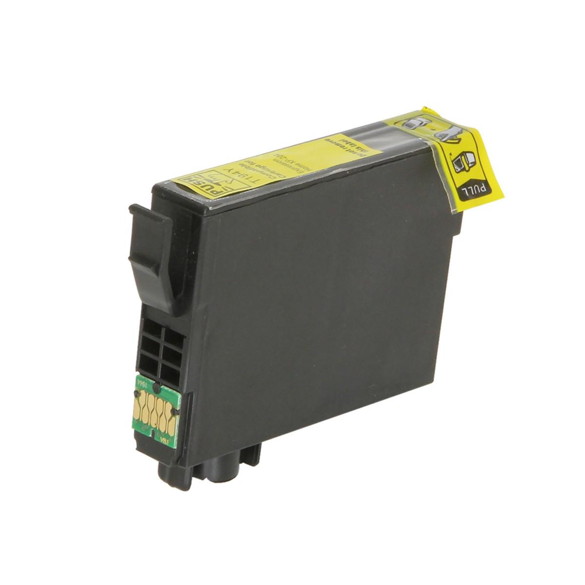 Cartucho de Tinta Compatível com Epson T194 T194420 T1944 Amarelo | XP214 XP 204 XP204 | 8ml