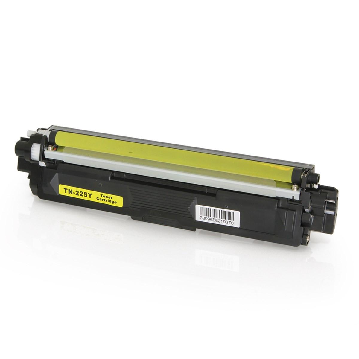 Toner Compatível com Brother TN221 TN225 Amarelo | HL3170 MFC9130 HL3140 MFC9020 | Importado 2.2k