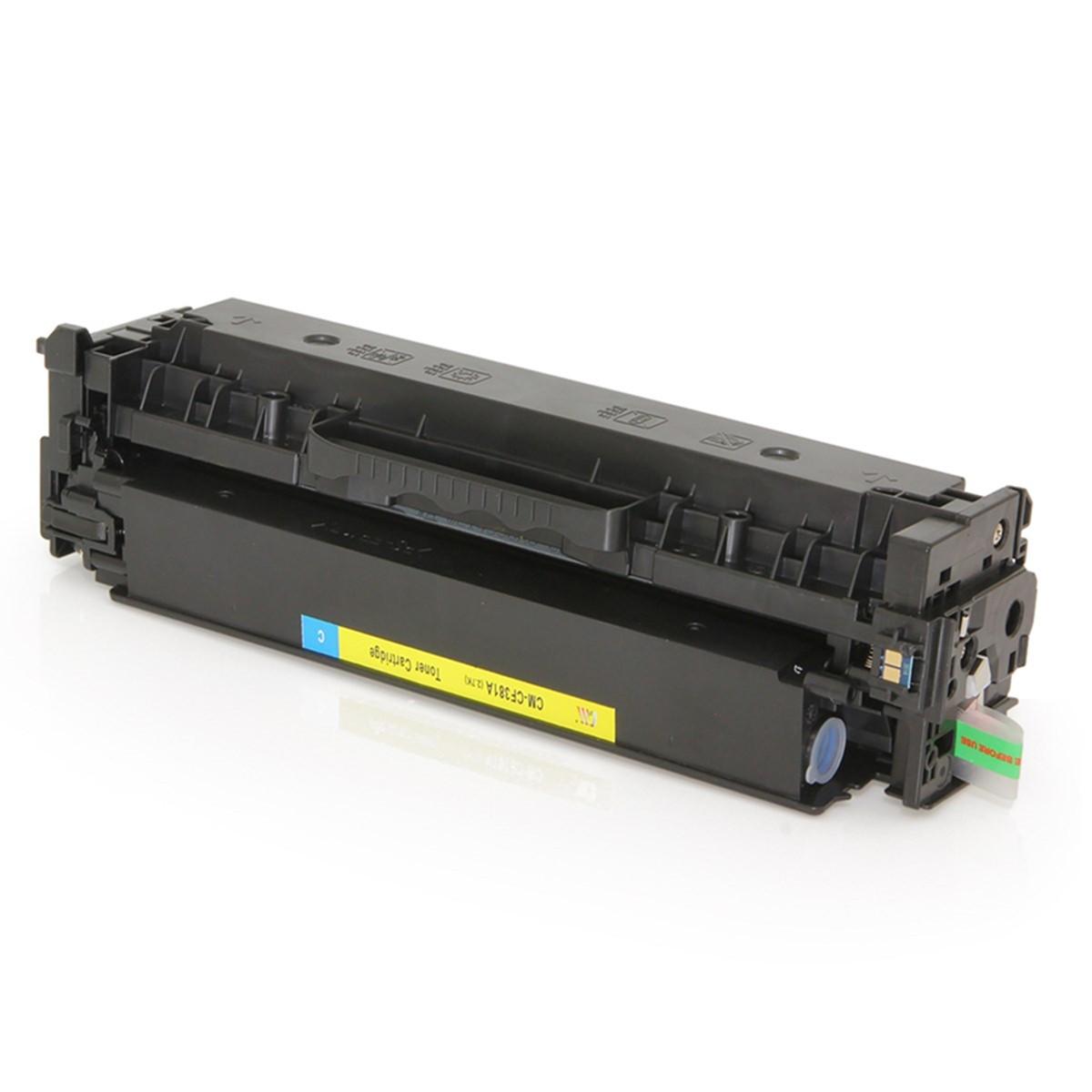 Toner Compatível com HP CF380A 312A Preto Universal | M476 M476NW | Premium Quality 3.5k