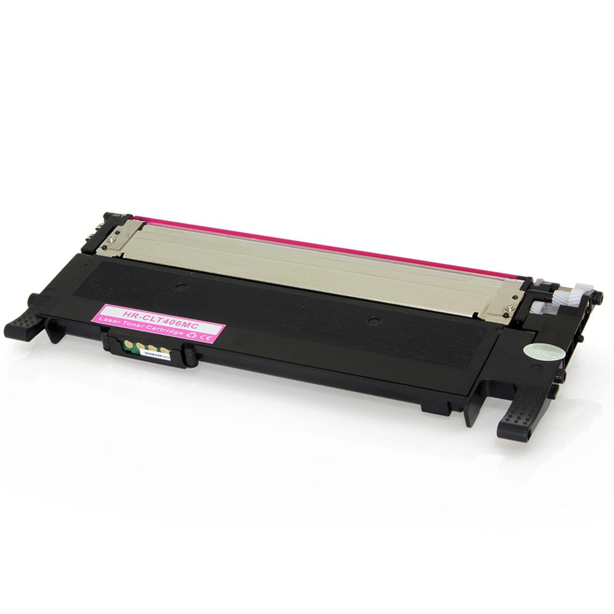 Toner Compatível com Samsung CLT-M406S Magenta | CLP365W CLP365 CLP360 C460FW | Importado 1k