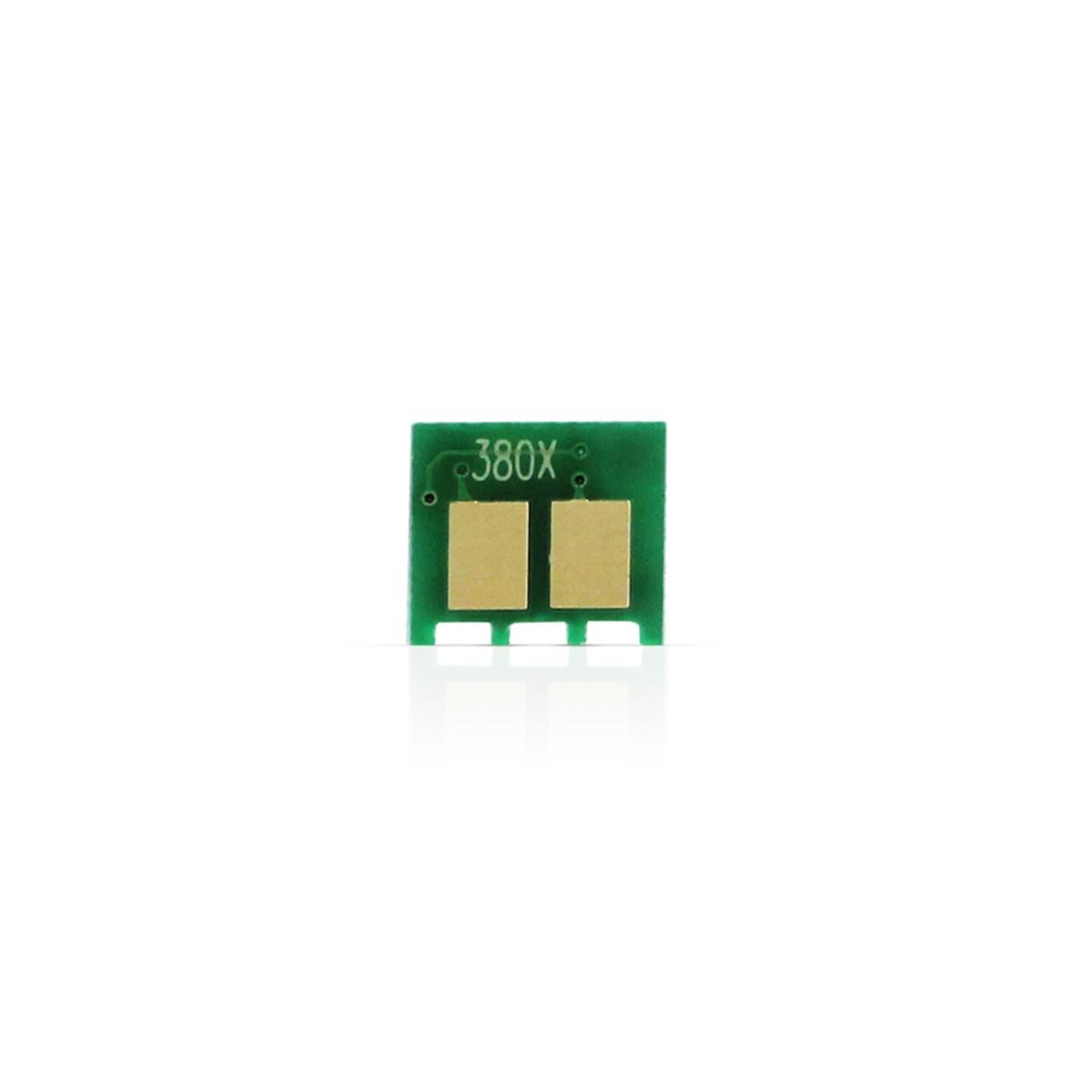 Chip HP CF380X 80X 312X Preto   M476 M476NW M476DW   4.400 páginas