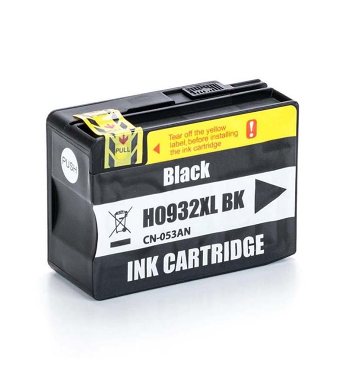 Cartucho de Tinta Compatível com HP 932XL Preto CN053AL CN053AN CN053A CN053AB | 33ml