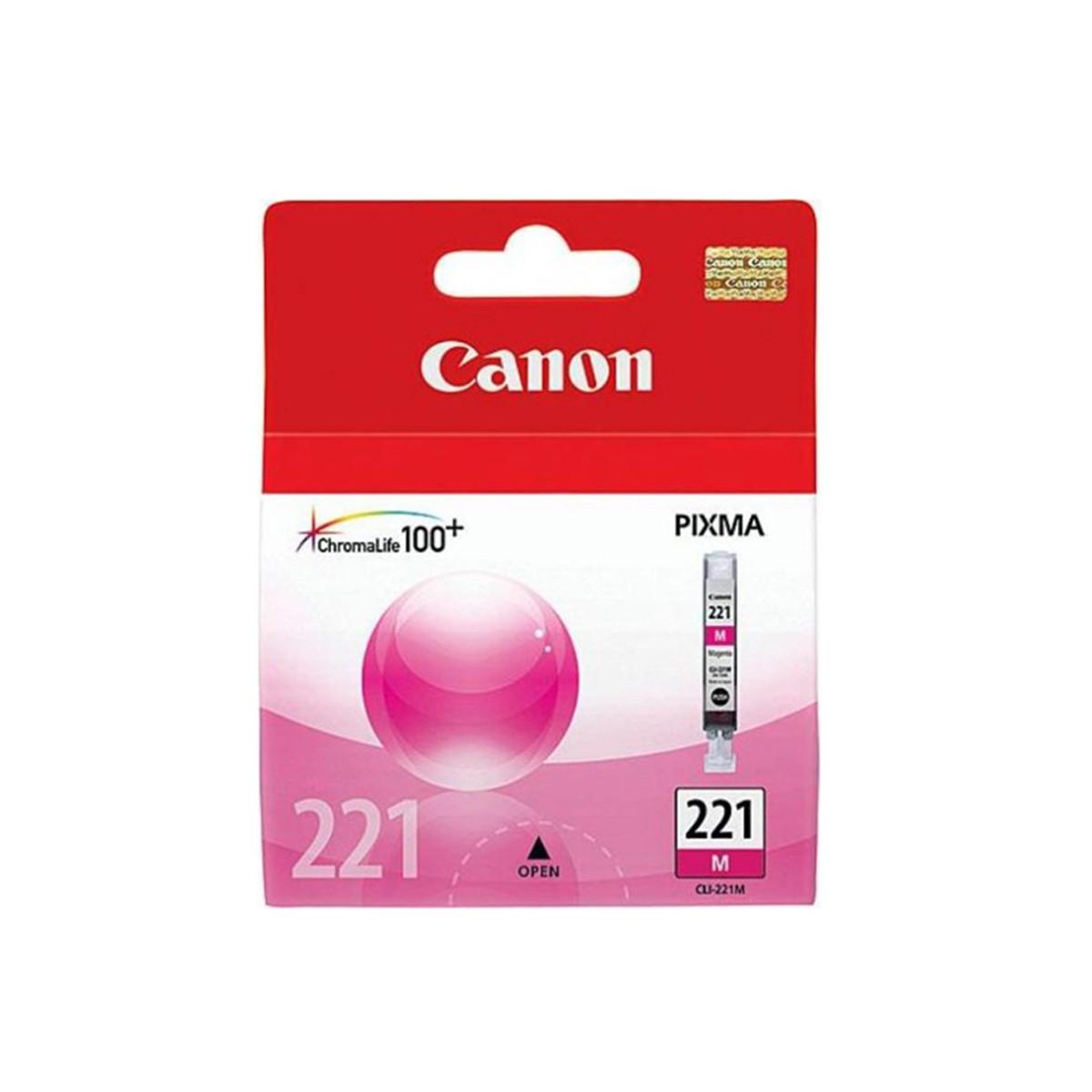 Cartucho de Tinta Canon CLI-221M CLI-221 Magenta | Original 9ml