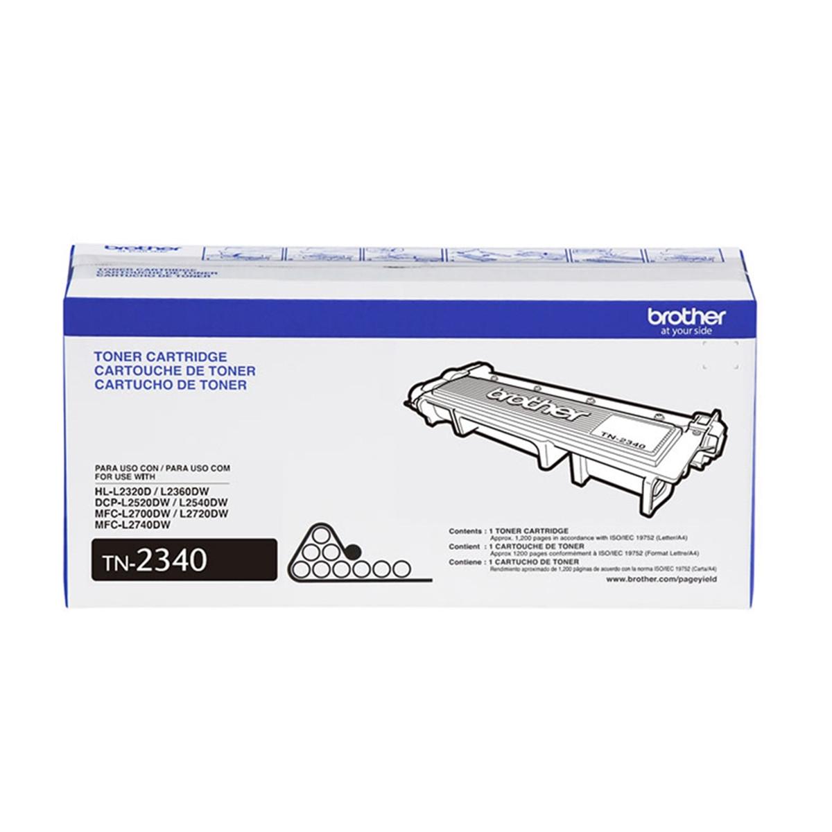 Toner Brother TN2340 | HL-L2320D HL-L2360DW MFC-L2740DW MFC-L2720DW | Original 1.2K