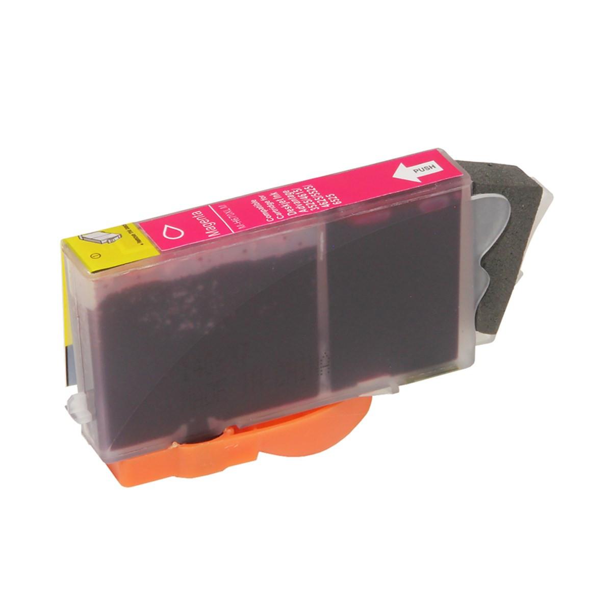 Cartucho de Tinta Compatível com HP 670XL CZ119AB | 4615 5525 4625 | Magenta | Importado 14ml