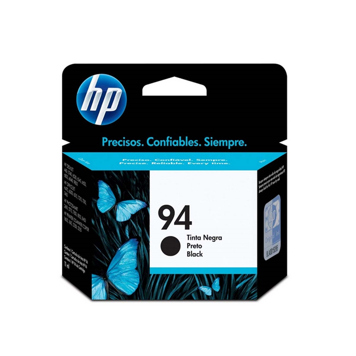 Cartucho de Tinta HP 94 C8765WB Preto | Officejet 100 Officejet H470WBT | Original 11ml