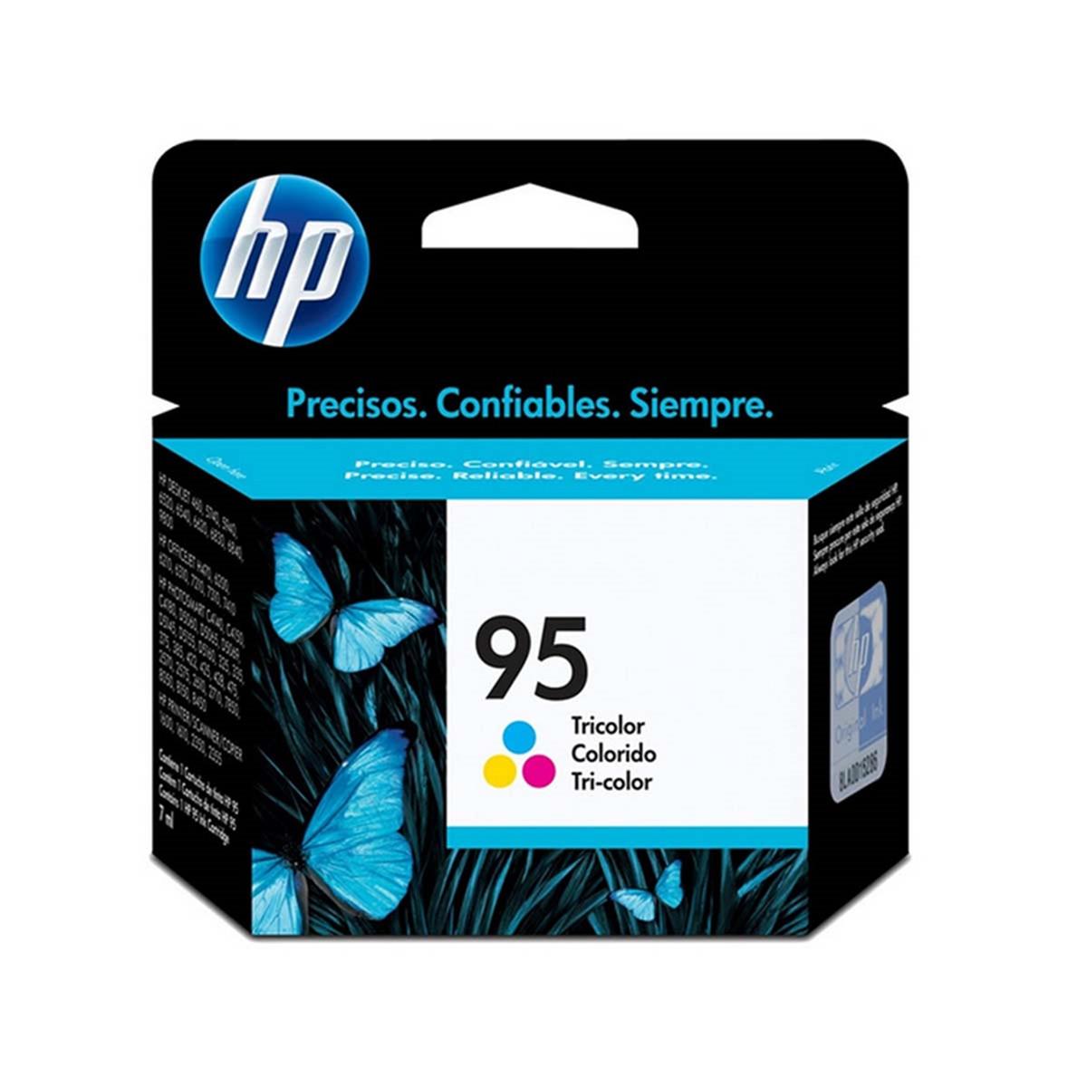 Cartucho de Tinta HP 95 C8766WB Colorido | C4140 C4150 C4180 7410 6310 9800 100 | Original 7ml