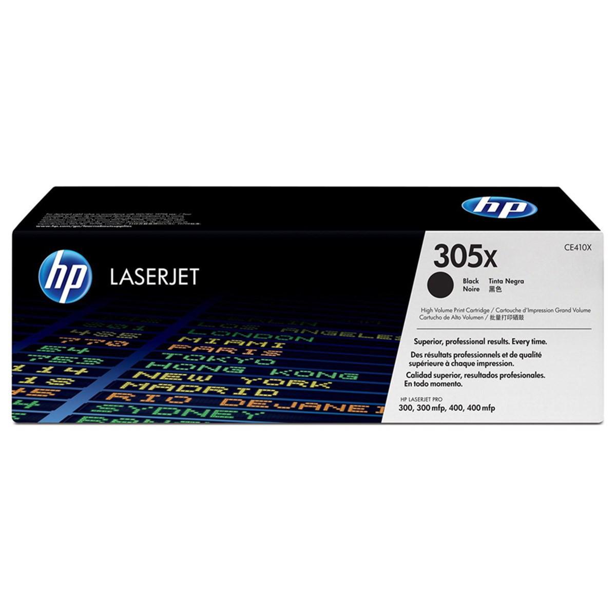 Toner HP CE410X 410X 305X CE410XB Preto | M451DW M451NW M451DN M475DN M475DW | Original 4k