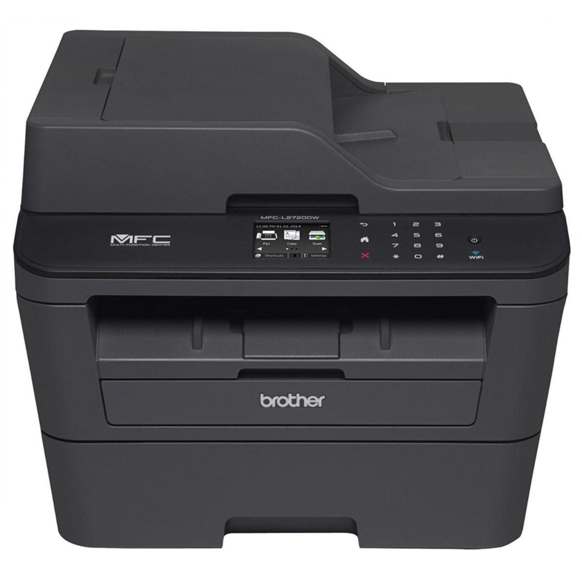 Impressora Brother MFC-L2720DW MFCL2720 Multifuncional Laser Monocromática com Wireless e Duplex