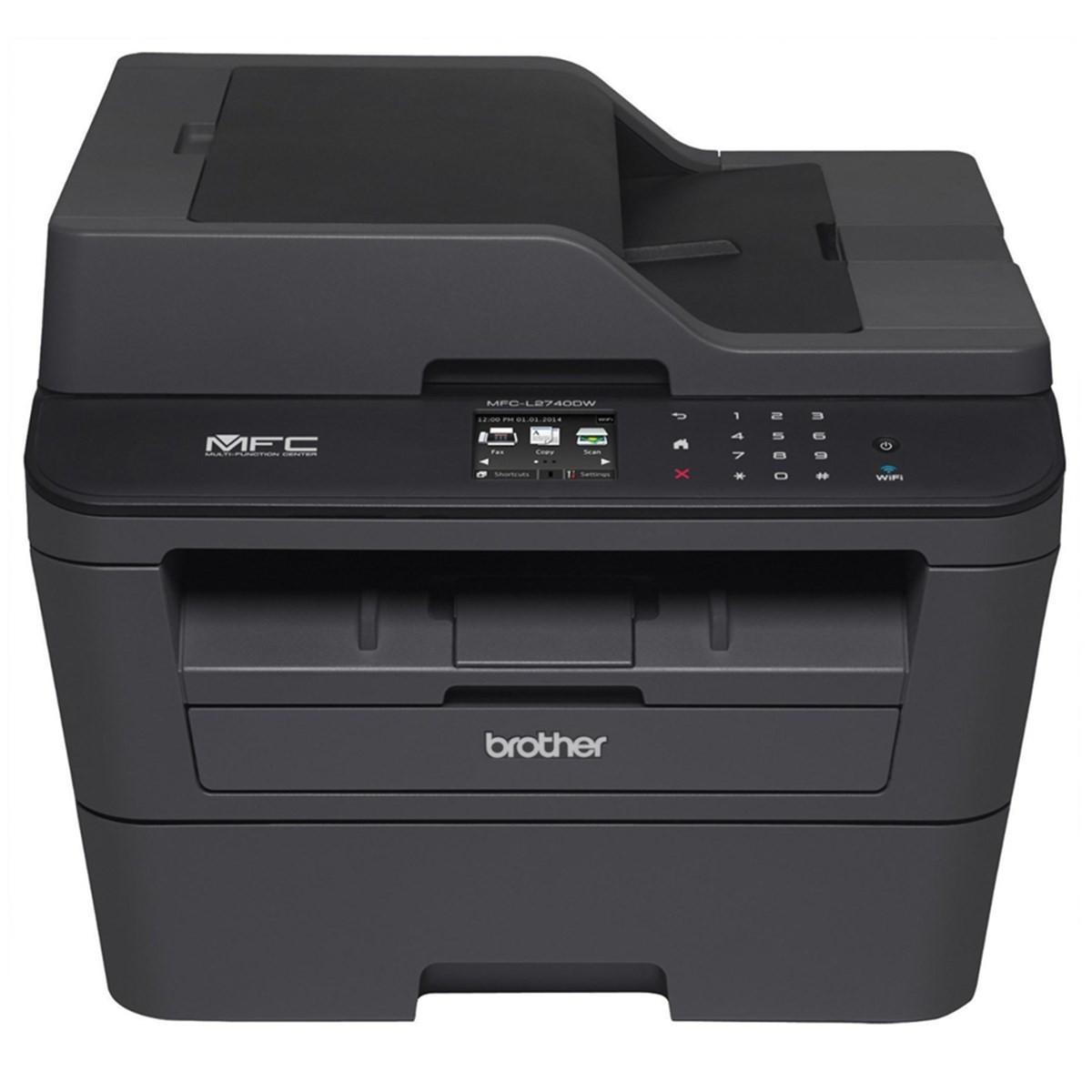 Impressora Brother MFC-L2740DW MFCL2740 Multifuncional Laser Monocromática com Wireless e Duplex