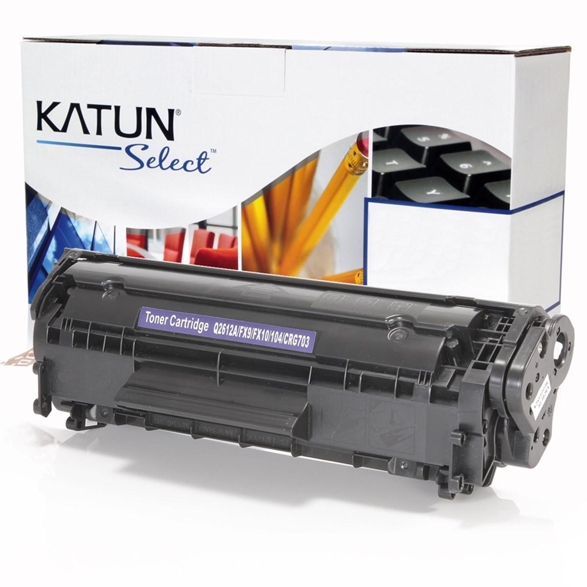 Toner Compatível com HP Q2612A Q2612AB | 1018 1020 1022 3015 3020 3050 3052 3055 | Katun Select 2k