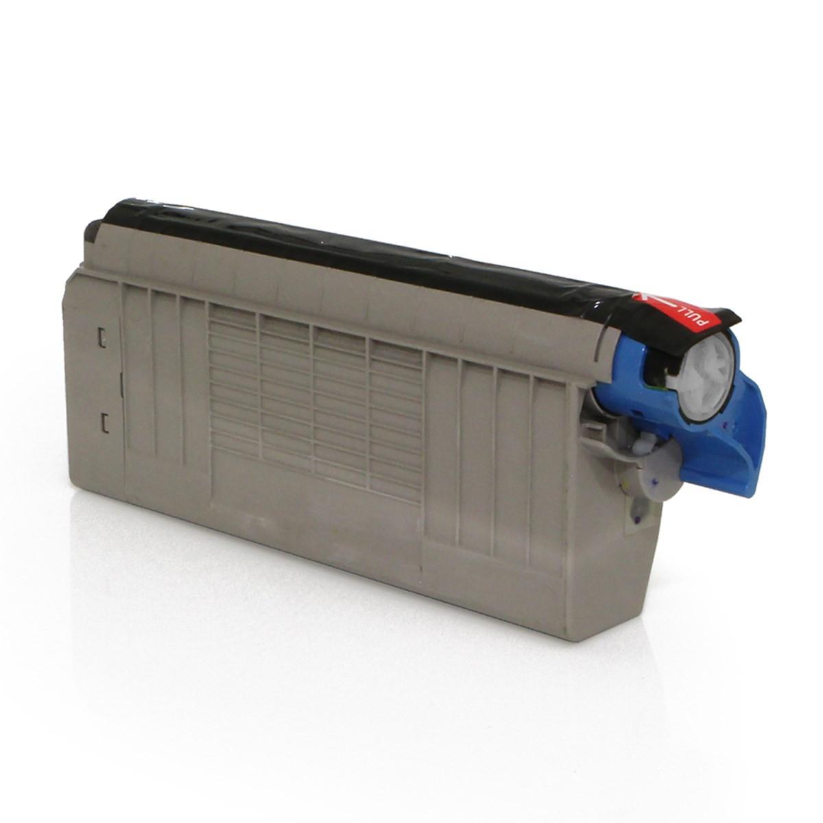 Toner Compatível com Okidata C711 C711N C711WT C710 C710DN Ciano 44318603 | Importado 11.5k