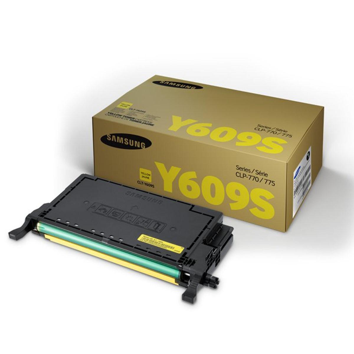 Toner Samsung CLT-Y609S Amarelo   CLP770 CLP775 CLP-770ND CLP-775ND   Original 7k