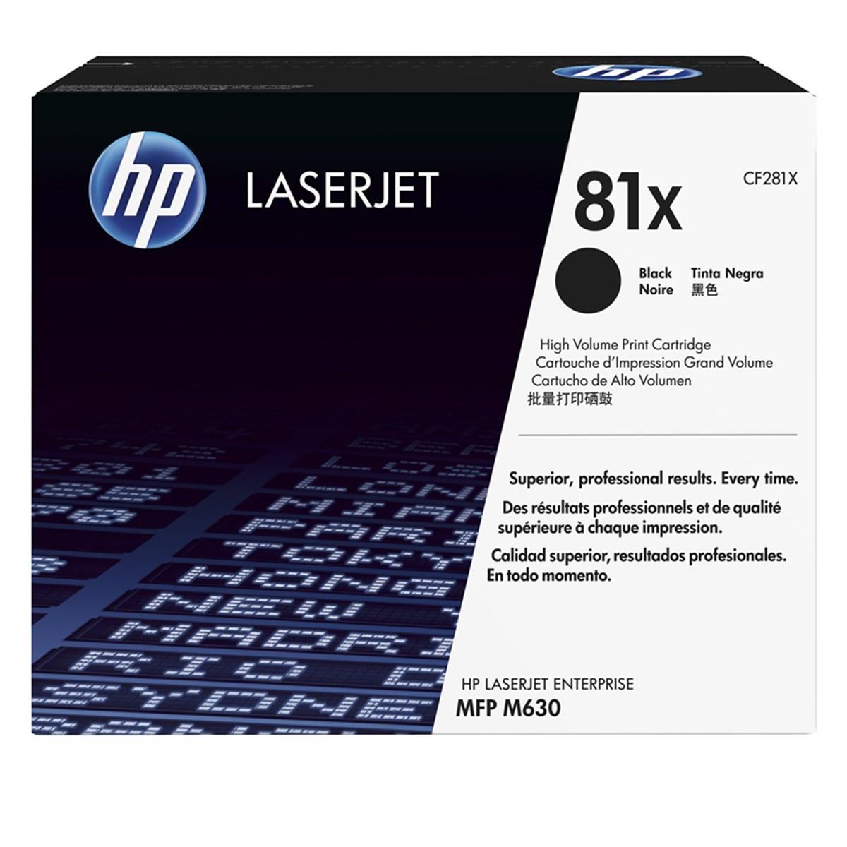 Toner HP CF281X 281X 81X | M630F M630Z M630H M605N M603DW M604DN M606DN M601N | Original 25k